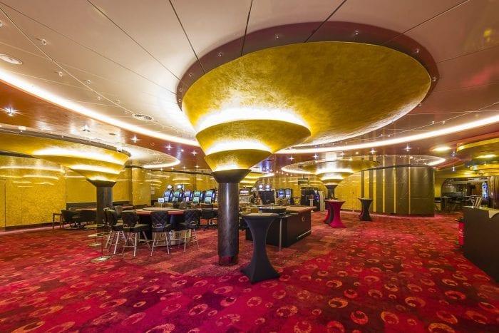 wandverklediung gold krakele casino